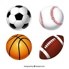 sport balls collection vector free