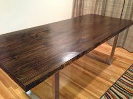 custom wood dining tables reclaimed custom wood dining table with industrial steel frame is