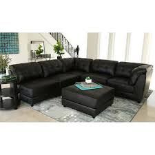 Black Leather Living Room Furniture Sets Living Room Sets Costco