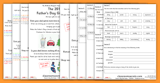 father u0027s day gift guide year 2 whole class guided reading