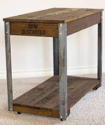 round industrial side table jonathan tall round table olystudio com regarding coffee idea 9