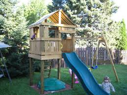 build your own outdoor playset