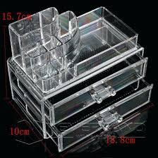 acrylic makeup organizer 5 drawers the beauty cube uk cheap