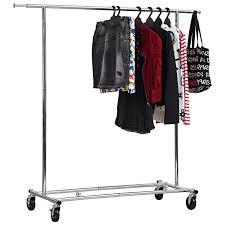 heavy duty garment rack from storage box