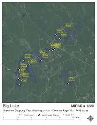 Map Of Lake Washington by Lakes Of Maine Lake Overview Big Lake Grand Lake Stream Plt