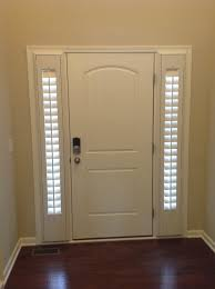 Lowes Shutters Interior Interior White Wooden Door Design Ideas With Lowes Blinds Plus