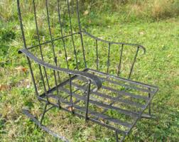 Antique Wrought Iron Outdoor Furniture by Outdoor Rocking Chair Etsy