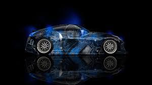 blue nissan 370z nissan 370z jdm side sub zero aerography car 2014 el tony
