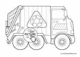 coloring download trash truck coloring page trash truck coloring