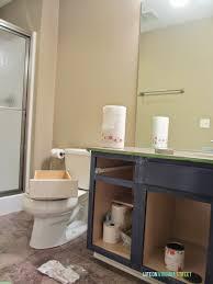 Oak Bathroom Vanity Cabinets by Bathroom Cabinets Refinish Bathroom Vanity Bathroom Cabinets