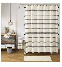 Better Homes Curtains Better Homes Gardens Tribal Chic Ivory Shower Curtain Size 72 In