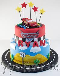 birthday cakes cars theme best 25 disney cars cake ideas on