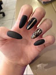 black fake nail designs how you can do it at home pictures