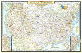 Unites States Map by Historical Map Of The United States Map 1953 Maps Com