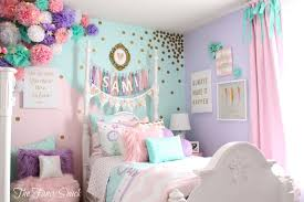 girls first bed the fancy shack pastel girls room makeover