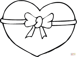 hearts coloring page coloring home