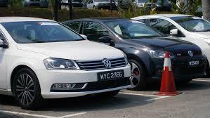 volkswagen sedan malaysia file volkswagen test drive cars left to right passat 1 8 tsi