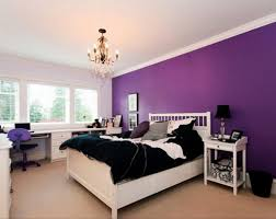 Bedroom Wall Color With Dark Furniture Dark Purple Bedroom Accessories Dark Purple Sccent Wall Color