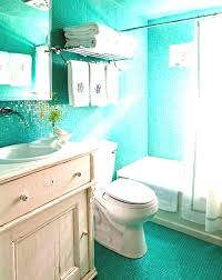 Basic Bathroom Decorating Ideas Colors Bathroom Glass Divider Good Mirror Oval Hanging Lamp Brick Wall