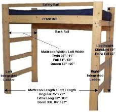 How To Make A Loft Bed Frame Building Loft Bed Loft Bed Building Loft Bed Ladder Canalcafe Co