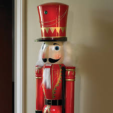 large size nutcracker outdoor decorations