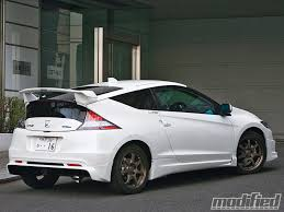 modified sports cars mugens honda cr z beginning of eco tuning modified magazine