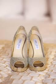 Wedding Shoes Jimmy Choo Gold Jimmy Choo Platform Bridal Shoes Elizabeth Anne Designs