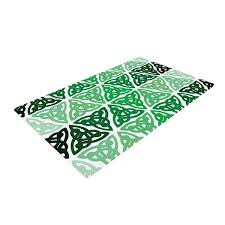 Celtic Area Rugs East Home Celtic Knot Forest Green Area Rug Reviews Wayfair