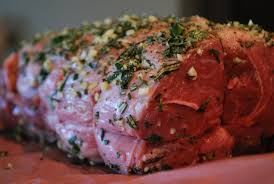 scrumpdillyicious herb and garlic roasted leg of lamb