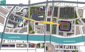 Metlife Stadium Floor Plan by Map Of Lp Field Parking Lot Nissan Stadium Gates Inspiring World