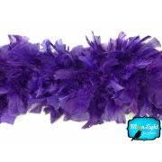 purple feather feather boa