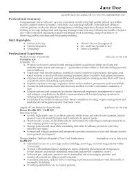 Professional Nursing Resume Examples by Patient Advocate Resume Sample Resume For Your Job Application