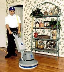 wood floor cleaning hardwood flooring buffing in