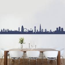 28 london skyline wall sticker london skyline silhouette london skyline wall sticker london skyline 2 wall decal art sticker kitchen lounge