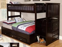 Bunk Bed With Trundle Bedding Twin Over Full Bunk Bed With Stairs
