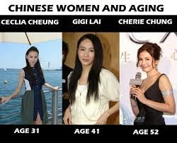 Asian Lady Meme - list of synonyms and antonyms of the word how asian people age