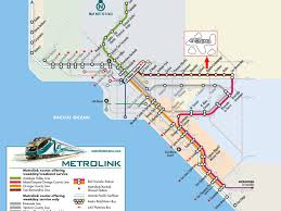Amtrak Status Map by Lax Councilman Wants Metrolink To Connect To Ontario Airport