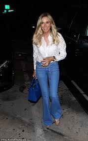 what is in style for a 70 year old woman alana stewart looks far younger than her 70 years in see through top