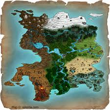 Map Of Avatar Last Airbender World by Mythical Cartography The Artistry Of Maps By Techgnotic On Deviantart