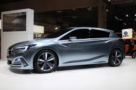 small subaru hatchback subaru impreza 5 door concept tokyo motor show live photos u0026 video