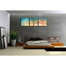 large canvas wall art print abstract tree contemporary home decor