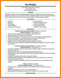 Objective In Resume For Customer Service Representative 7 Customer Service Resume Objective Memo Heading