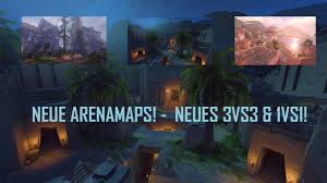Arena Maps New Arena Maps Overwatch Gameplay Arcade Naynex Youtube