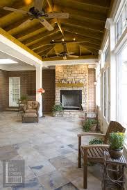 screened porch flooring over concrete