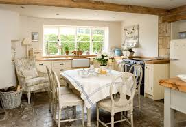 photos hgtv french country kitchen with wood bench window seat