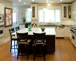 Square Kitchen Island Square Island Kitchen Home Design Intended For With Seating