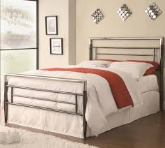 iron beds and headboards queen clean lined metal headboard