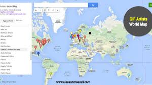 Indonesia World Map by Gifography Explore A Map Of Gif Artists All Over The World Creators