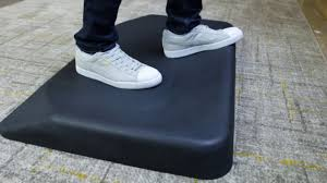 Mat For Standing Desk by Standing Desk Mat Activemat From Varidesk Youtube