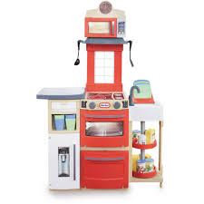 Little Tikes Kitchen Set by Little Tikes Cook U0027n Store Kitchen Red With 32 Piece Accessory